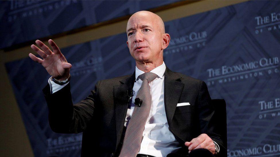 Ông Bezos sẽ từ chức giám đốc điều hành Amazon