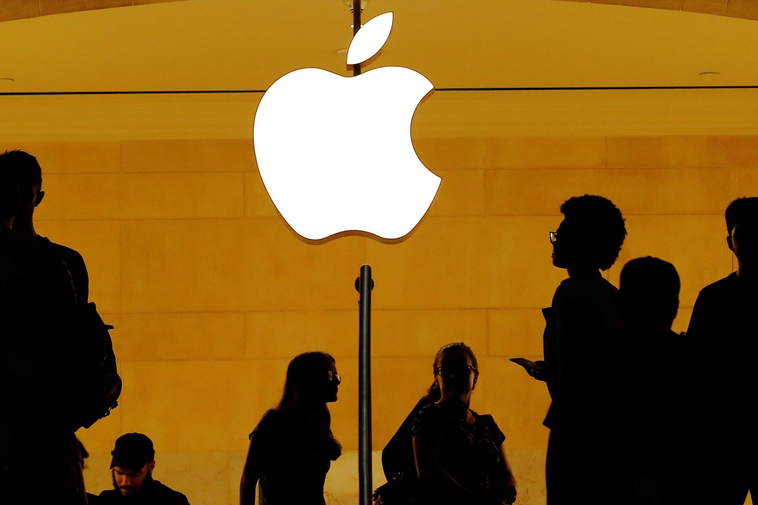 Ảnh tham khảo cổ phiếu apple