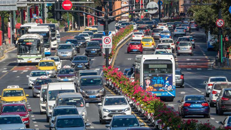 Trung Quốc là thị trường Trung Quốc ô tô lớn nhất thế giới.