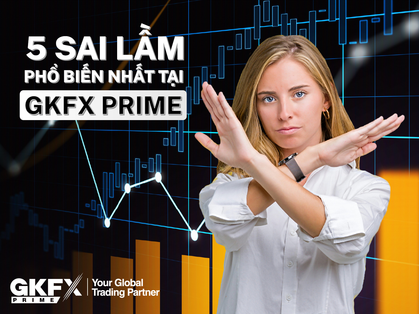 Tổng hợp 5 sai lầm phổ biến nhất tại GKFX Prime