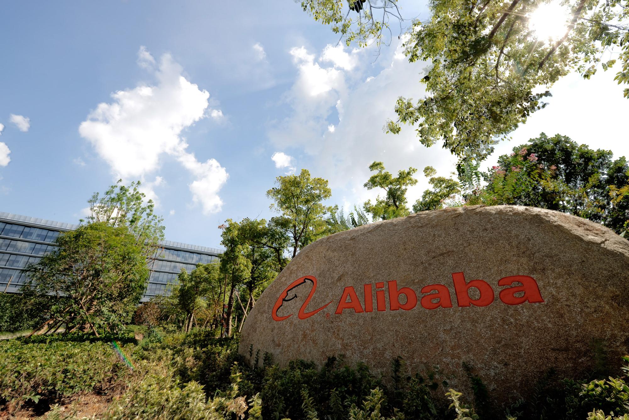 Cổ phiếu Alibaba trượt giá trên thị trường