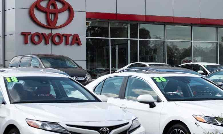 Toyota có thể sẽ là nhà sản xuất ô tô bán chạy nhất của Mỹ