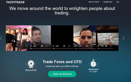 FasFXtrade và Fast FX Way là những nhà môi giới lừa đảo